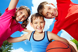 Childrens sport physical